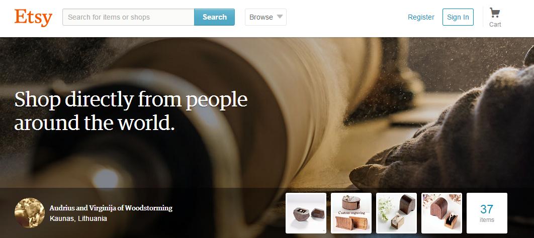 手工藝品電商Etsy也要IPO了!每股16美元掛牌,估值達18億美元