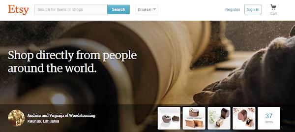 手工藝品電子商務網站Etsy即將上市