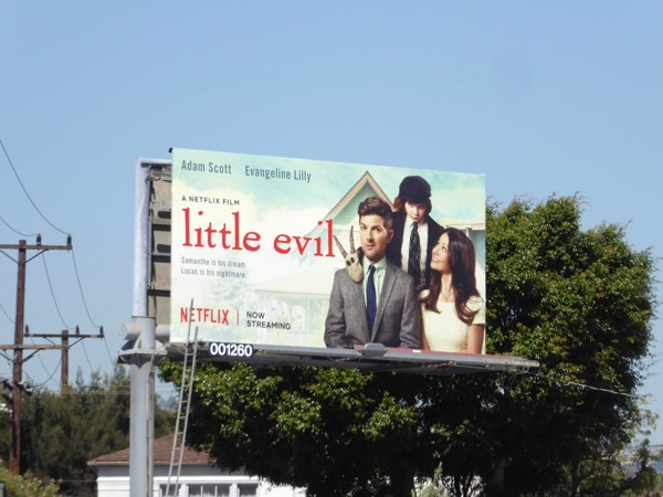 Little Evil movie billboard