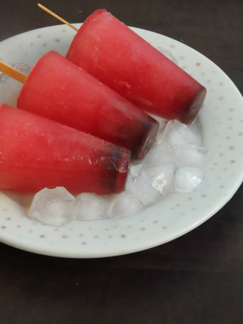 Cherry pops, Cherry popsicles