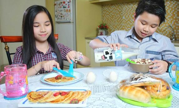Sarapan Pagi Sehat Untuk Anak Sekolah