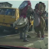 Two Masquerades Exchange Blows In Lagos (Photos, Video)