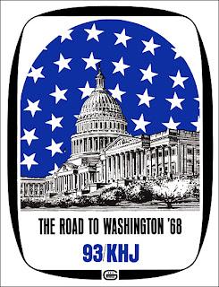 KHJ Road to Washington 1968 (Cover)