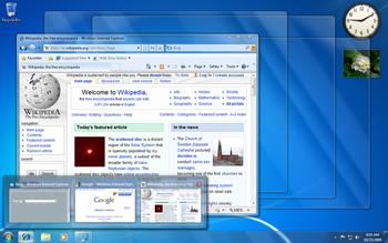 Fitur Aero Peek Windows 10/8/7