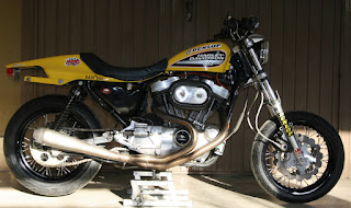 dark dog sportster tracker by udo meuthen with 17 inchs wheels