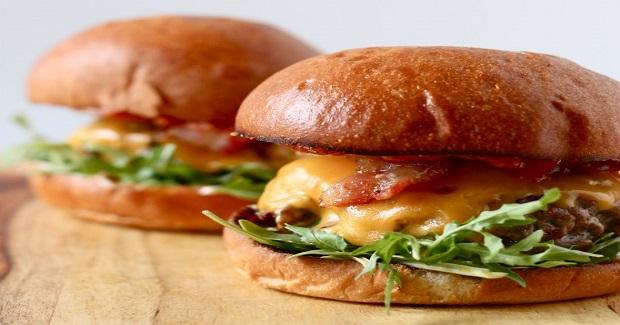 Bacon Cheeseburgers With Kimchi Ketchup Recipe