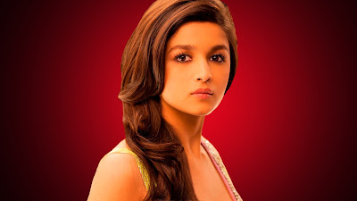 alia bhatt hd saree wallpaper