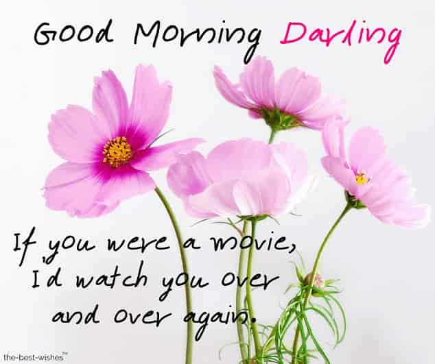 good morning darling for her