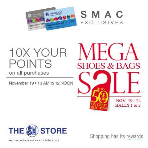 501a8f20a18 Manila Shopper  Mega Shoes   Bags SALE at SM Megatrade  November 2015