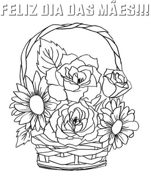 Desenhos para colorir dia das mes atividades mundinho da criana dia das maes flores desenhos colorir 2 desenhos para colorir dia das mes atividades thecheapjerseys Gallery