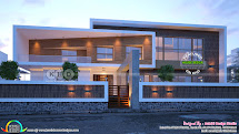 And Latest Trendy Contemporary House Kerala Home