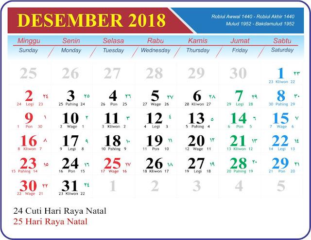 Desember 2018