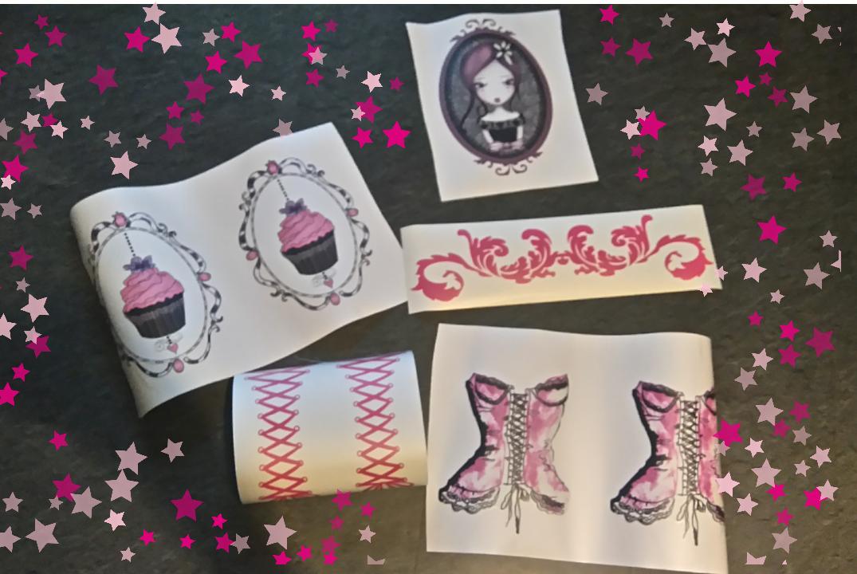 Dark beauty and mummy blog la nouvelle d co de ma chambre avec stickers m - Stickers porte capitonne ...