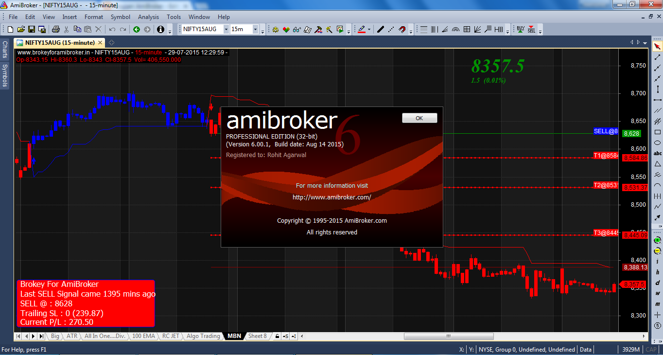 AmiBroker 6.0 Professional Full Version