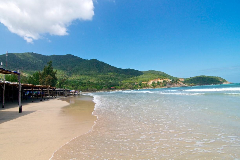 The image of Sao Beach in Phu Quoc Island