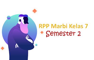 Download RPP Marbi Bahasa Indonesia Kelas 7 - Semester 2
