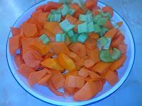 Para Hacer Crema de Zanahorias y Calabaza