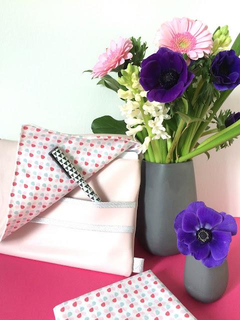 tuto housse d 39 ipad en cuir rose mimousk. Black Bedroom Furniture Sets. Home Design Ideas