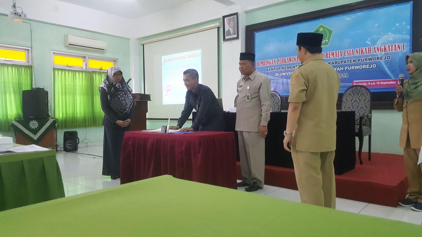 bimbingan perkawinan universitas muhammadiyah purworejo