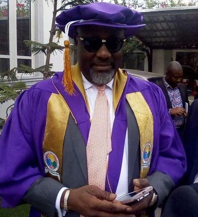 dino melaye abu academic robe