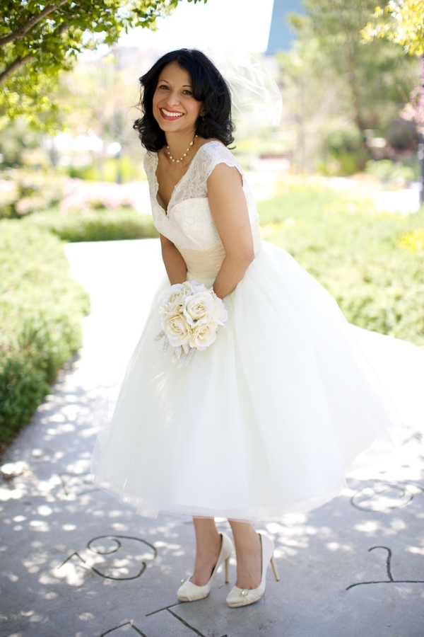 short-vintage-wedding-dresses