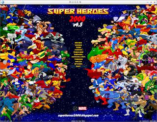 Superheroes 2000 Mugen v4.5