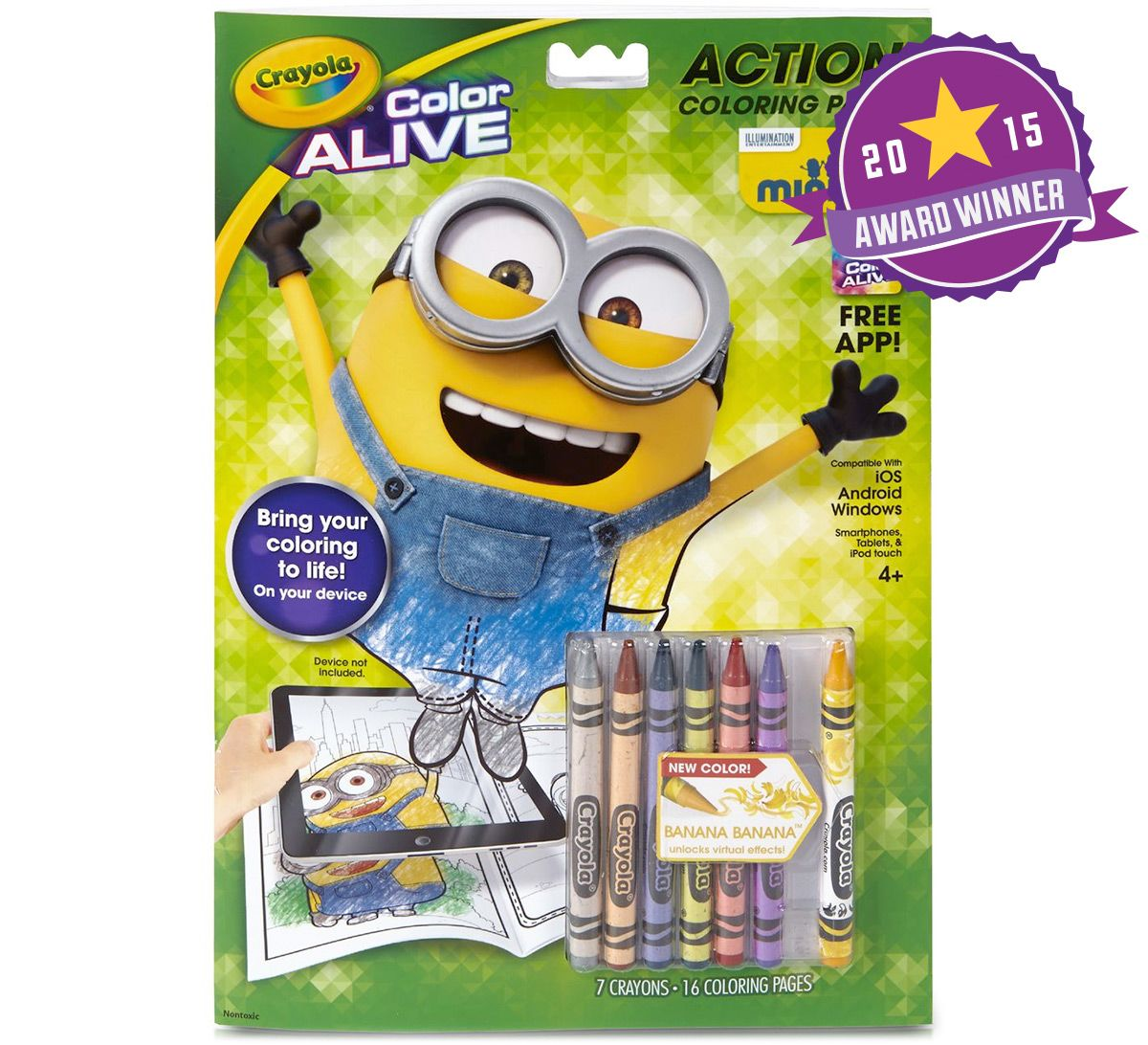 The crayon blog new crayola colors for 2015 with their for Crayola color alive coloring pages