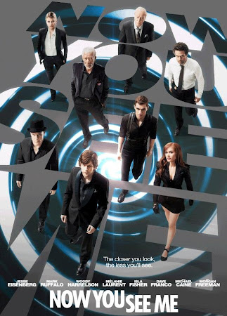 Poster Of Now You See Me In Dual Audio Hindi English 300MB Compressed Small Size Pc Movie Free Download Only At worldfree4u.com