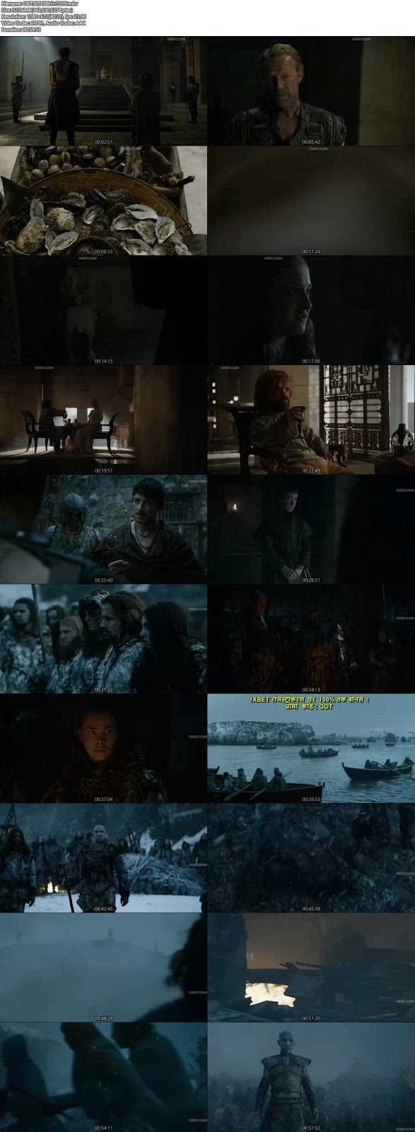 game of thrones season 7 episode 1 download in hindi
