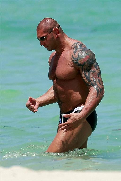 MixFashion: WWE Batista New Tattoos
