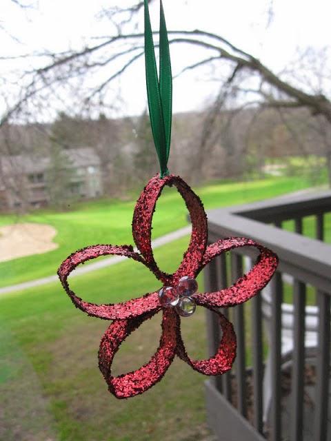 Ben noto Fatto in casa: Stella di Natale, un addobbo semplice da realizzare  FE04