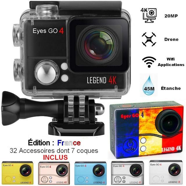 Eyes GO 4 LEGEND 4K Édition EURO