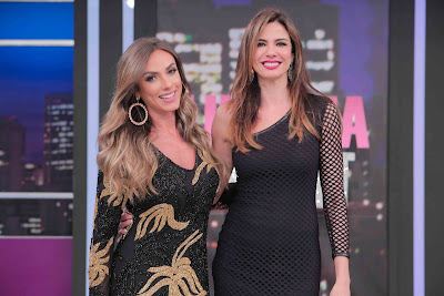 Nicole Bahls e Luciana Gimenez Crédito/Foto: Artur Igrecias/Divulgação RedeTV!