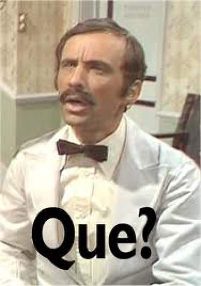 Messi uses the Fawlty Towers defence