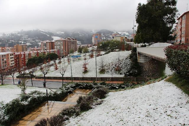 Barakaldo nevado