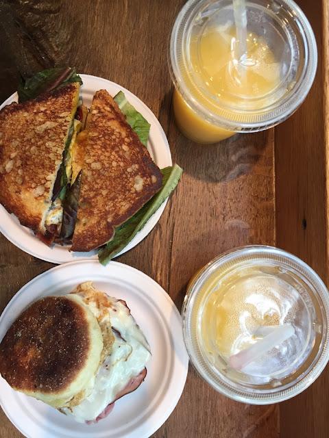 Breakfast in Boston