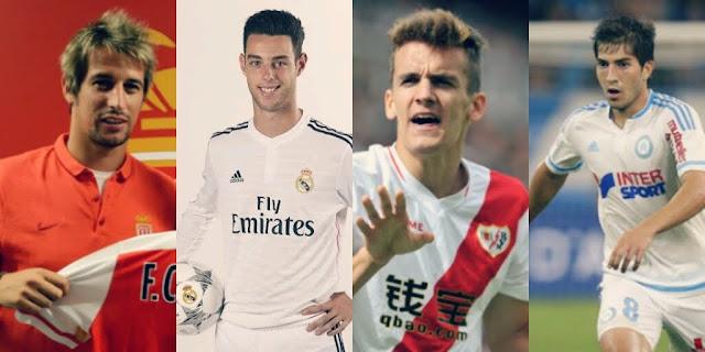 Confira os jogadores emprestados pelo Real Madrid, que podem ser aproveitados após a punição da FIFA.