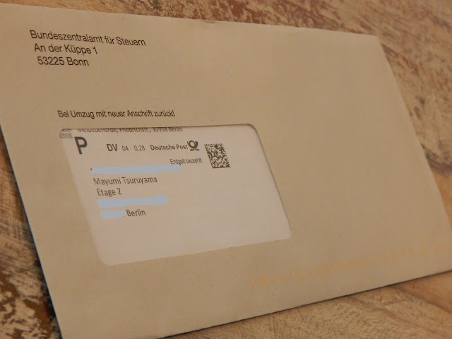 Carta do Anmeldung