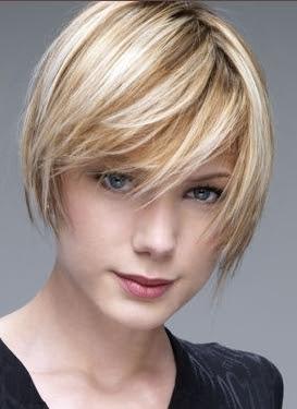 Corte de pelo corto estilo bob