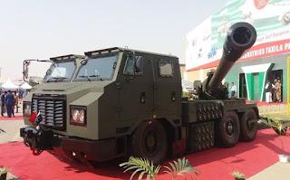 Howitzer Swa Gerak SH1 155mm Tiongkok