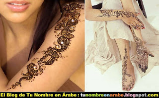 mejores tatuajes de henna