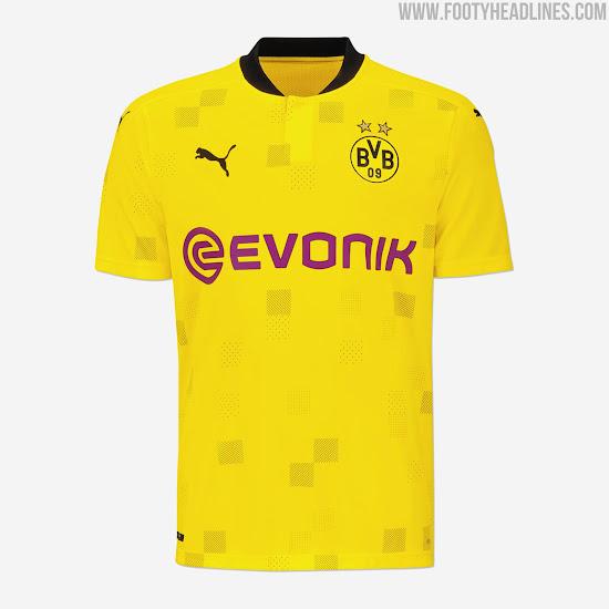Dortmund 20-21 Cup Kit Released - Footy Headlines