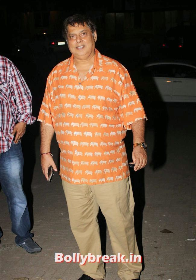 David Dhawan, Kainaat, Huma & Manjari at Sanjay Gupta Party for Milap Zaveri
