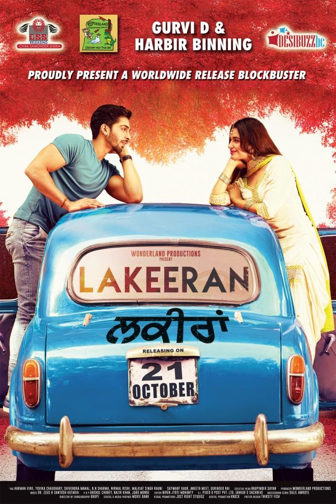 Lakeeran (2016) Punjabi 500MB HDTV 480p x264