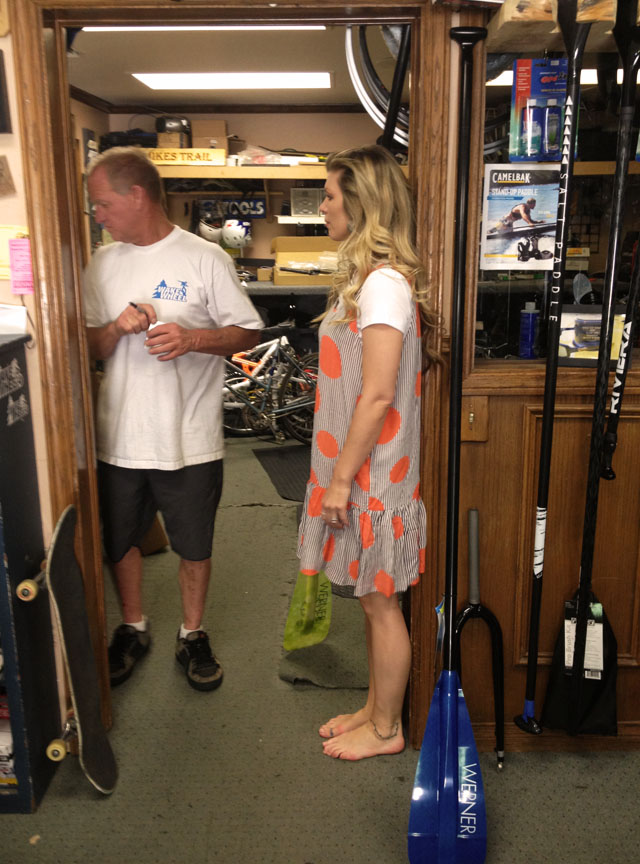 paddle board shopping