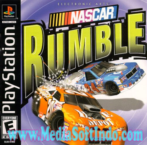 Free Download Game Nascar Rumble PS1 For PC Full (ISO) Terbaru | MediaSoftIndo