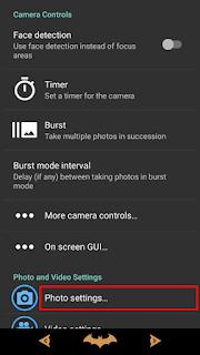Tampilkan Tanggal & Waktu Foto di Kamera Android