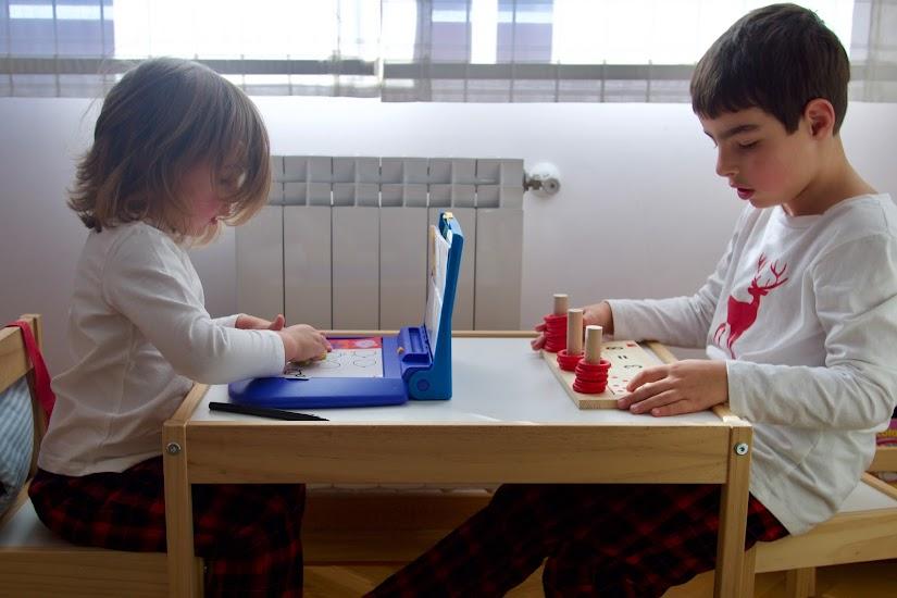 Juegos infantiles para estimulación