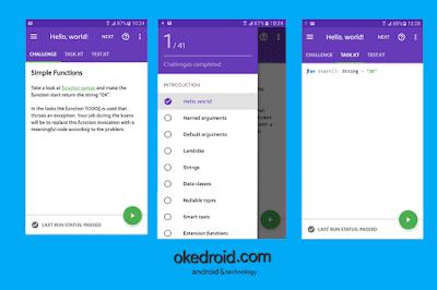 Aplikasi Android Kotlin Koans