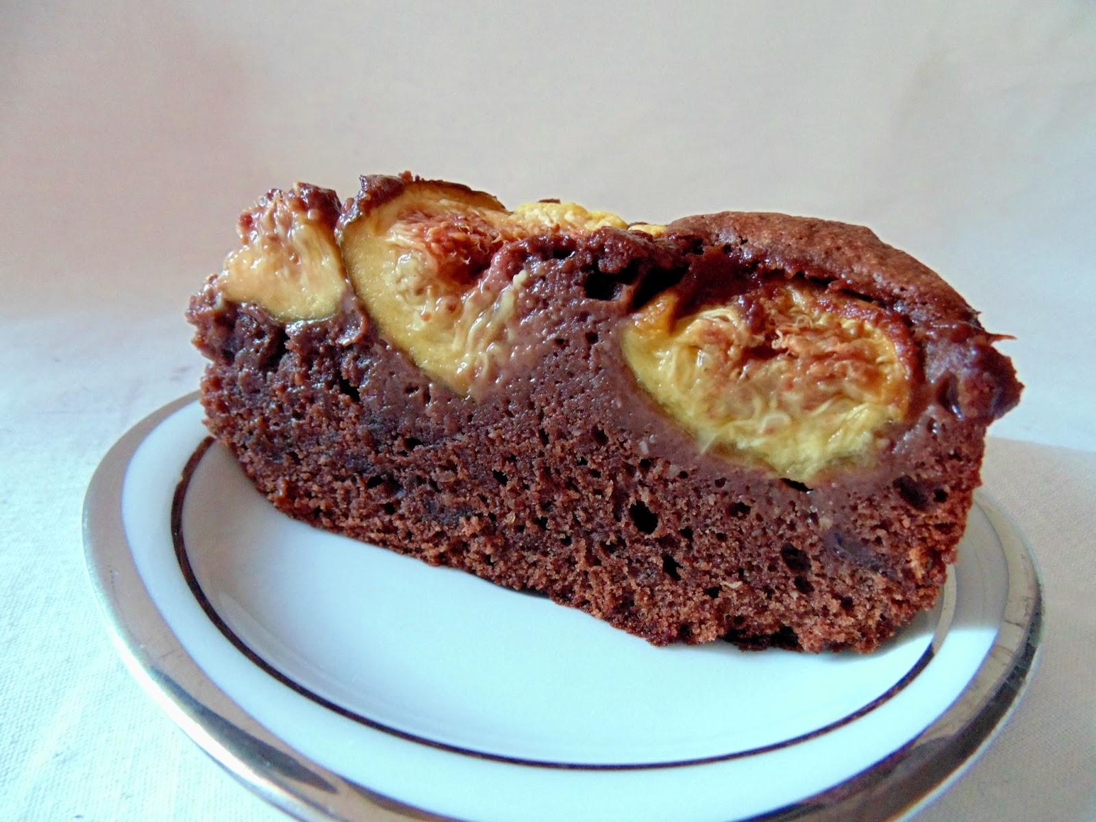 gateau gaga love cakes g teau au chocolat et aux figues. Black Bedroom Furniture Sets. Home Design Ideas